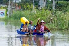 Flooding in Nakhon Ratchasima, Thailand Royalty Free Stock Photos