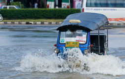 Flooding in Nakhon Ratchasima, Thailand Stock Photos