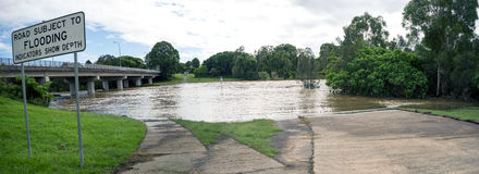 Flooding Panorama Stock Images