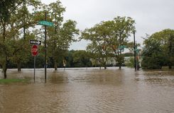 Flooding in Philadelphia Stock Image