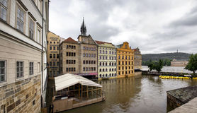 Flooding in Prague Stock Images