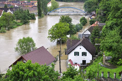 Flooding River Stock Images