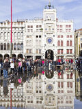 Flooding in St Marks Square Stock Image