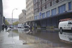 Flooding after storm Sandy Stock Photos