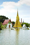 Flooding in Thailand Stock Photo