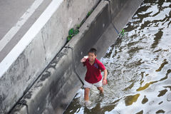 Flooding in Thailand Stock Image