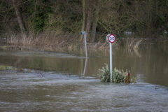 Flooding Royalty Free Stock Image