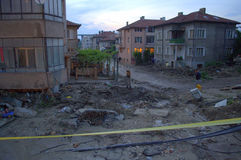After flooding Varna,Bulgaria June 19 Royalty Free Stock Photos