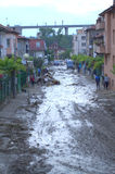 Flooding in Varna,Bulgaria June 19th Royalty Free Stock Photography