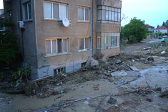 Flooding in Varna,Bulgaria June 19th Stock Photography