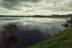 Flooding in Victoria, Australia Royalty Free Stock Photo