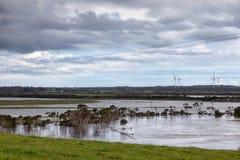 Flooding in Victoria, Australia Stock Photo