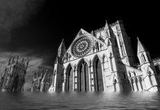 Flooding of York Minster Stock Photography