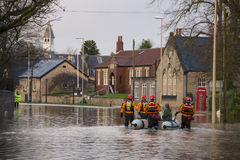 Flooding - Yorkshire - England Stock Images