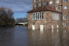 Flooding - Yorkshire - England Stock Photography