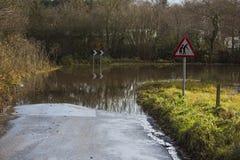Flooding - Yorkshire - England Stock Photo