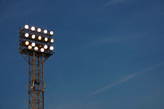 Floodlight Arkivfoton