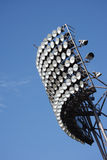 Floodlight. Of stadium against sky Royalty Free Stock Image