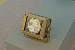 Floodlight for lighting of buildings and facades. Floodlight for lighting of buildings and facade Stock Images
