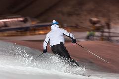 Floodlight ski in winterberg germany. Some floodlight ski in winterberg germany Stock Images