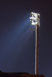 Floodlight at stadium Stock Photography