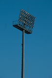 Floodlight.Stadium lights. Riflettore Royalty Free Stock Images