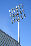 floodlights arkivbilder