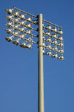 Floodlights at a Sportsground Stock Image