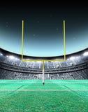 Floodlit Stadium Night Royalty Free Stock Photo