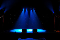 Floodlit Stage Royalty Free Stock Images
