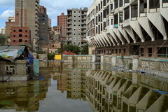 Floods in Alexandria Royalty Free Stock Image