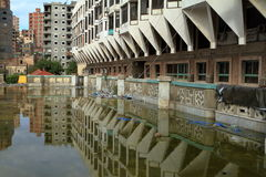 Floods in Alexandria Royalty Free Stock Images