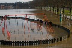Floods on the Avon Stock Image
