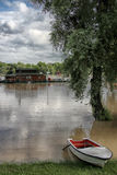 Floods in Belgrade Royalty Free Stock Images
