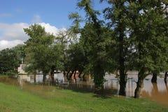 Floods in Belgrade Stock Image