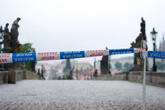 Floods in Prague, 4th june 2013 Stock Photos