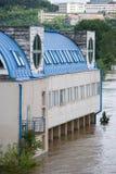 Floods in Prague, 4th june 2013 Stock Images
