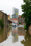 Floods in Prague, 3th june 2013 Stock Image