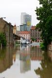 Floods in Prague, 3th june 2013 Stock Image
