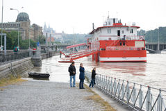 Floods in Prague, 4th june 2013 Royalty Free Stock Photography