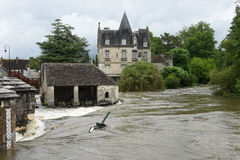 Floods Royalty Free Stock Photos