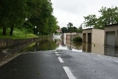 Floods Royalty Free Stock Photography