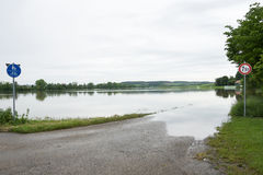 Floodwater Stock Photo