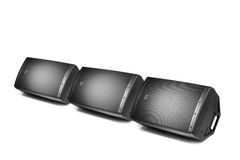 Floor audio speaker monitors Royalty Free Stock Photography