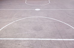 Floor basketball court Royalty Free Stock Photography