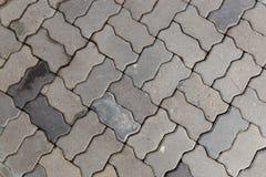 Floor brick. Texture close up Stock Photo