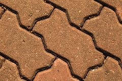 The floor brick of texture Stock Image