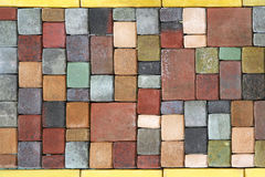 Floor bricks Stock Image