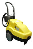 Floor buffing machine Stock Photos