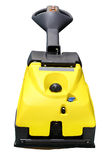 Floor buffing machine Royalty Free Stock Photo